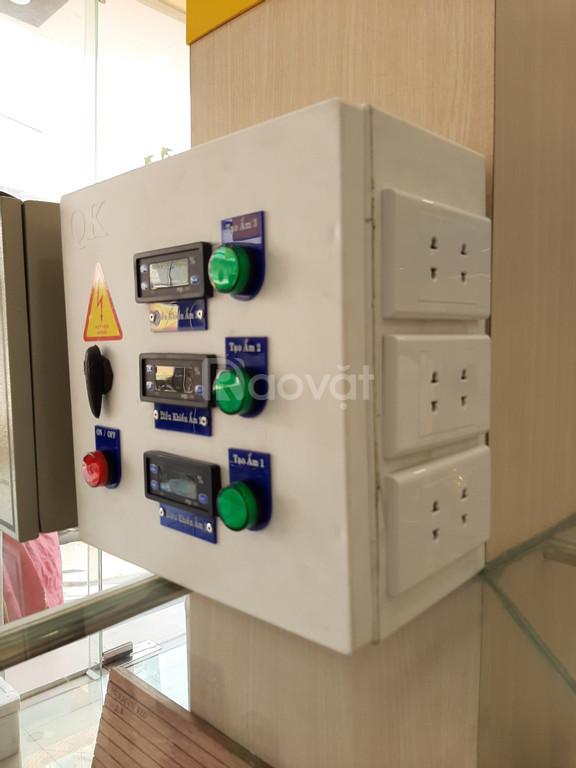 Thiết bị điều khiển độ ẩm nhà Yến 3 tầng SHL - H03