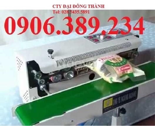 Máy hàn miệng túi liên tục thổi khí FRD-1000 giá rẻ