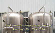 Bồn lọc áp lực - Xử lý nước thải