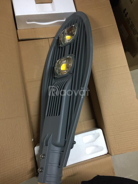 Đèn đường LED 100w vỏ ghi xám LEDCOM