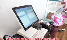 Máy tính tiền cảm ứng cho siêu thị tã, sữa tại Hưng Yên