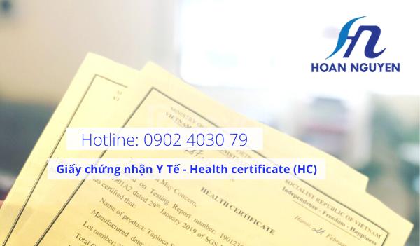 Quy trình thực hiện giấy chứng nhận Health certificate tại Bộ Y Tế
