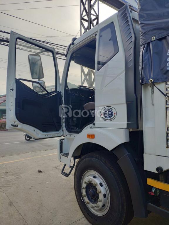Xe tải 8 tấn - xe tải Faw 7.25 tấn - Thùng bạt dài 9m7