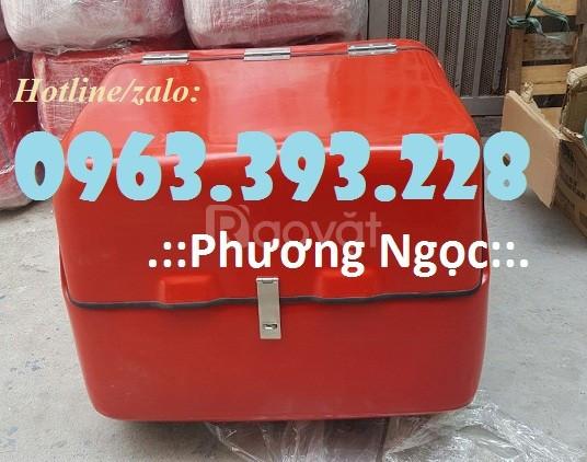 Thùng giao hàng cỡ lớn, thùng chở hàng quần áo, thùng giao hàng nhanh