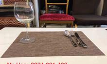 Tấm trải bàn ăn nhà hàng, đồ dùng nhà hàng