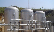 Bồn lọc áp lực 5m3/h - Xử lý nước cấp