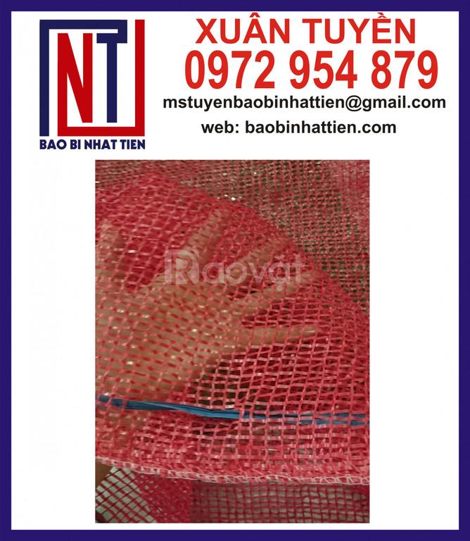 Bao lưới leno, giá bán bao lưới nông sản