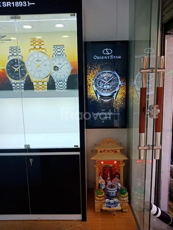 Thiết kế và thi công nội thất cửa hàng Đồng Hồ