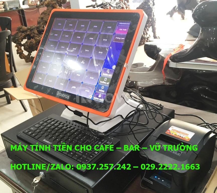 Máy tính tiền cảm ứng cho quán cafe, quán ăn, quán nhậu tại Cần Thơ
