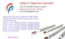 Audio cable, cáp tín hiệu vặn xoắn awg / rs485