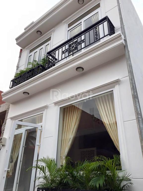 Nhà mới 5x20m, thiết kế hiện đại, SHR, Hoàng Phan Thái, Bình Chánh