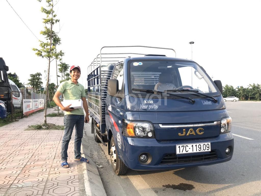 Lái thử xe tải JAC X150 1,5 tấn ngay.