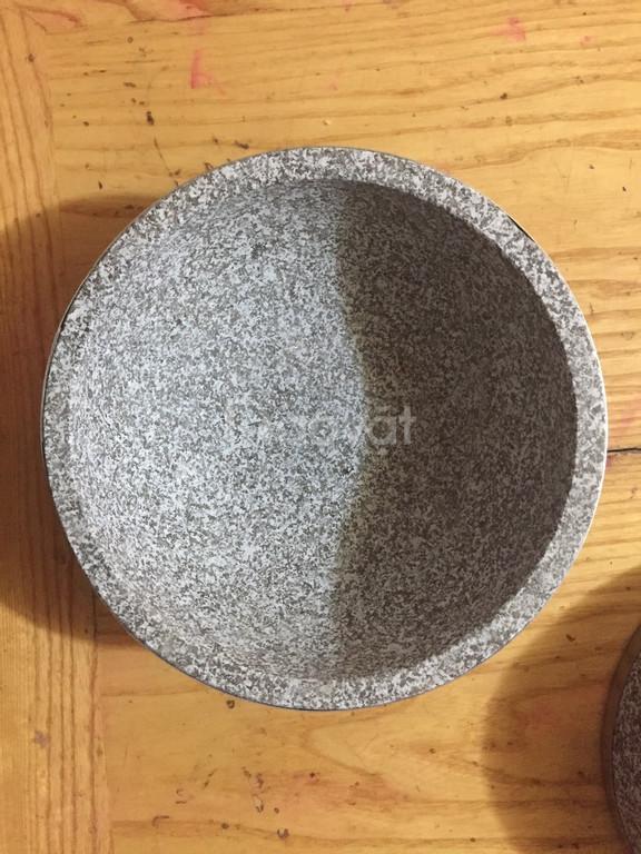 Bán thố đá, nồi đá Hàn Quốc, nồi đá bibimbap, phở thố đá,