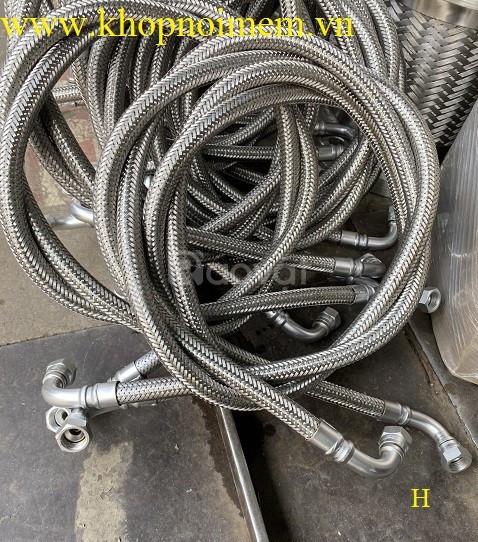 Khớp nối mềm inox, khớp co giãn inox, dây cấp nước inox