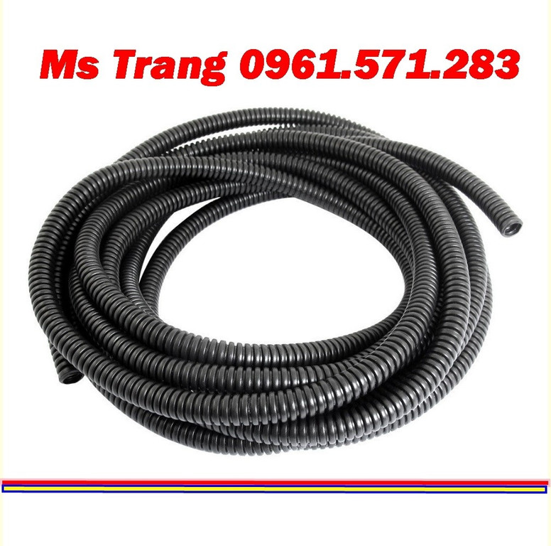 Ống ruột gà lõi thép, ống luồn dây điện, ống sun sắt hàng có sẵn