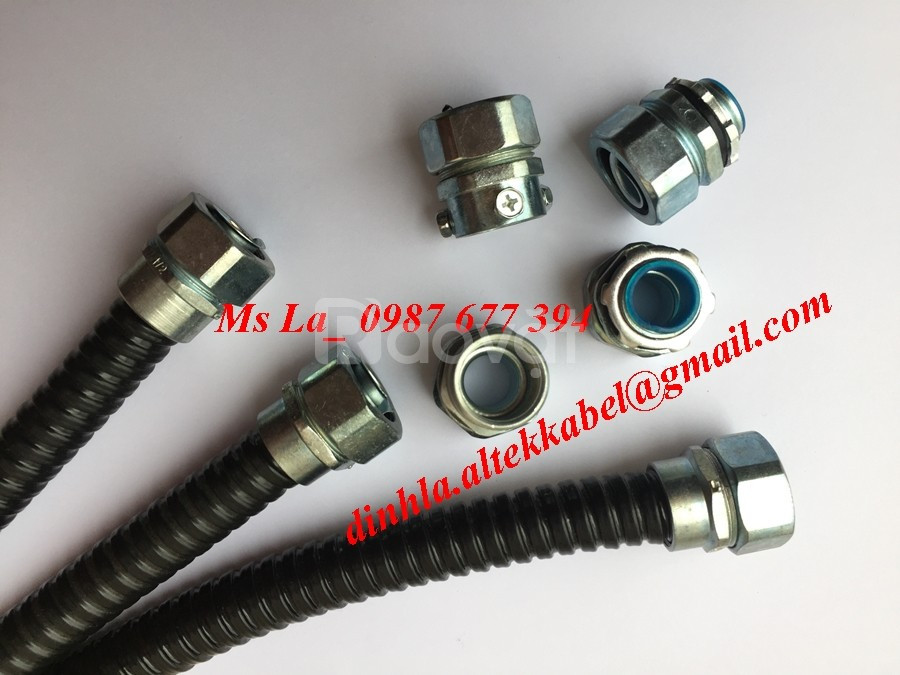 Chuyên phân phối ống ruột gà 3/8, đầu nối với ống ruột gà 3/8 inch