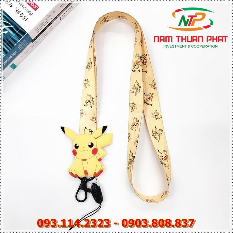 Dây đeo móc khóa Pikachu