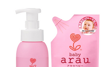 Nước rửa bình sữa 500ml + Nước rửa dạng túi 450ml Arau Baby 3013