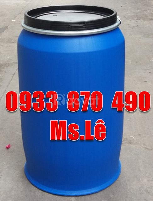Bán thùng phuy sắt qua sử dụng,thùng phuy nhựa loại cũ 220 lít