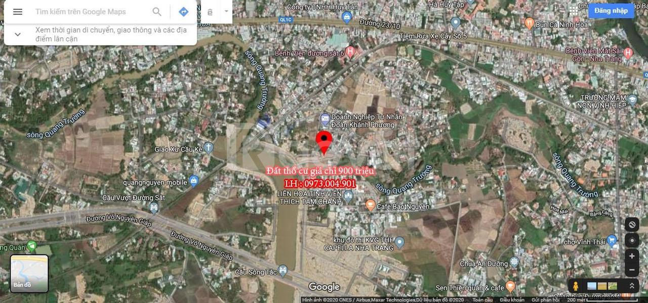 Bán đất đường Võ Nguyên Giáp Vĩnh Hiệp Nha Trang