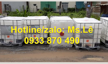 Tank nhựa ibc 1000 lít đựng hóa chất giá rẻ tại TP HCM