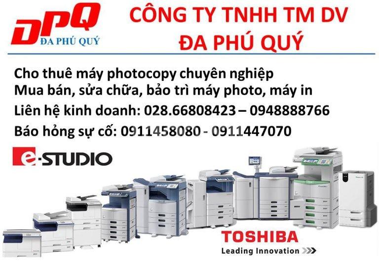 Cho thuê máy photocopy chuyên nghiệp
