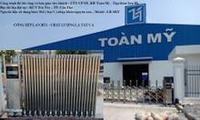 Cổng xếp tự động cổng xếp inox lắp tại Cần Thơ, nhà máy Toàn Mỹ