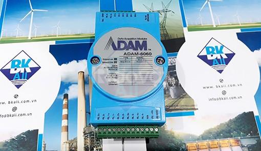 ADAM-6060 module ngõ vào số 6 kênh, ngõ ra Relay 6 kênh