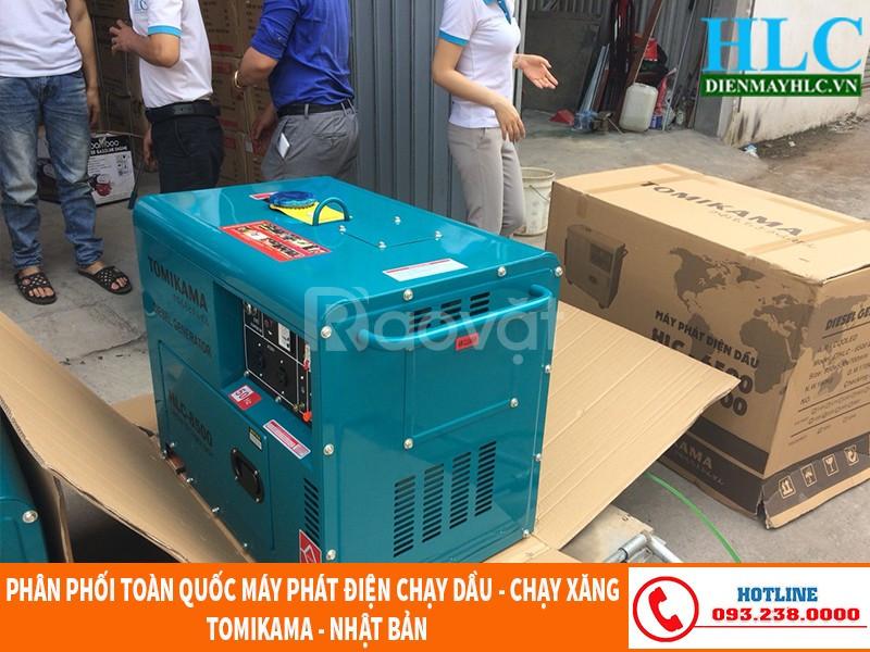 Máy phát điện gia đình chạy dầu chính hãng, giá rẻ Hà Nội