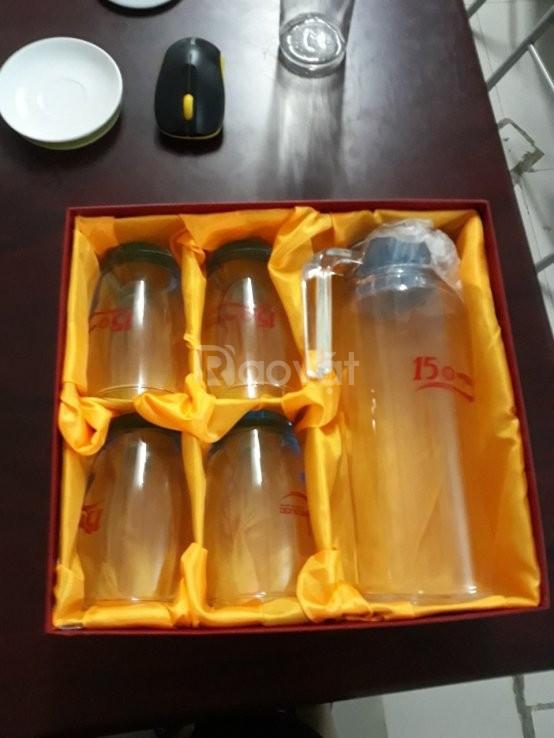 Cung cấp bộ bình ly thủy tinh đại hội tại Quảng Nam