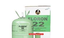 Bán giá sỉ và lẻ gas lạnh Floron R22 bình 13.6 kg