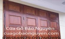 Cửa gỗ lim Nam Phi 4 cánh đẹp