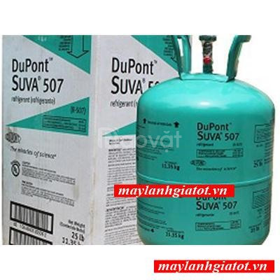 Đại lý bán sỉ và lẻ gas lạnh Dupont R507 (ảnh 1)