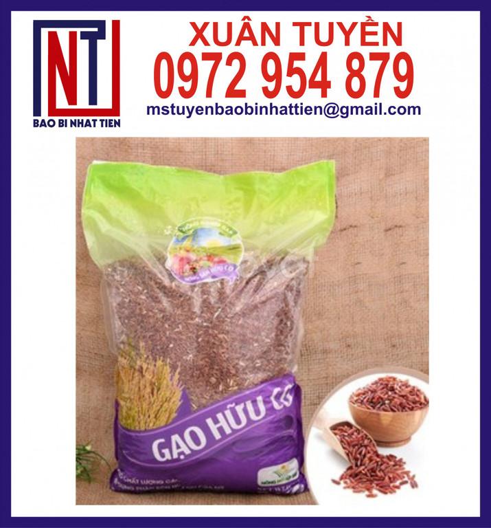 Túi gạo 1kg đến 5kg ghép màng PA/PE