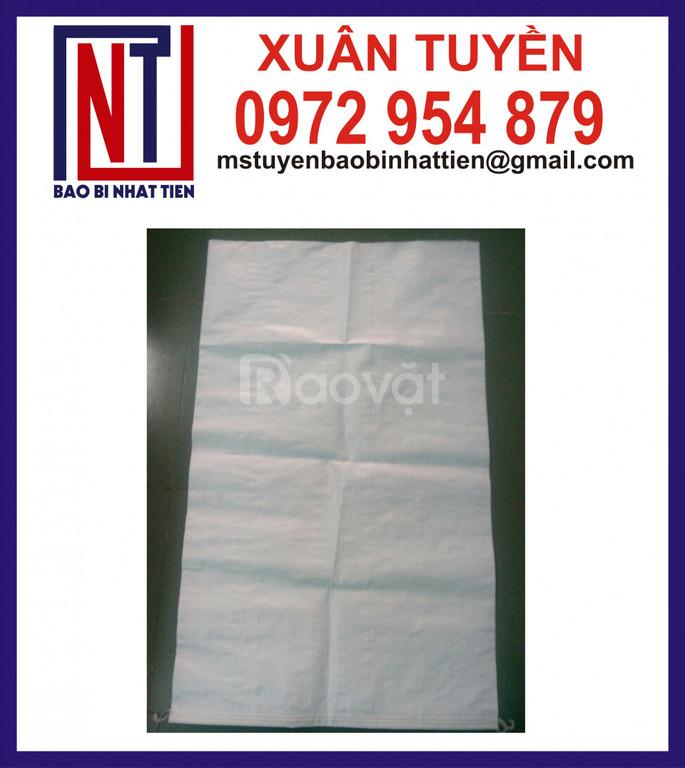 Cung cấp bao PP dệt trắng sữa đựng 25kg (ảnh 1)