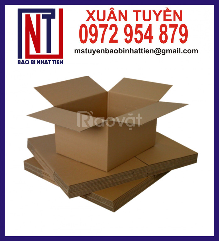 In thùng carton giá rẻ, đơn vị sản xuất thùng carton