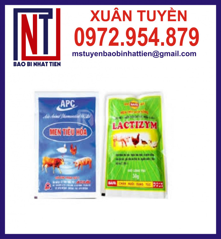 Sản xuất bao bì thuốc thú y và thuốc thủy sản