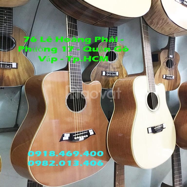 Trung tâm sản xuất đàn guitar chất lượng giá bình dân