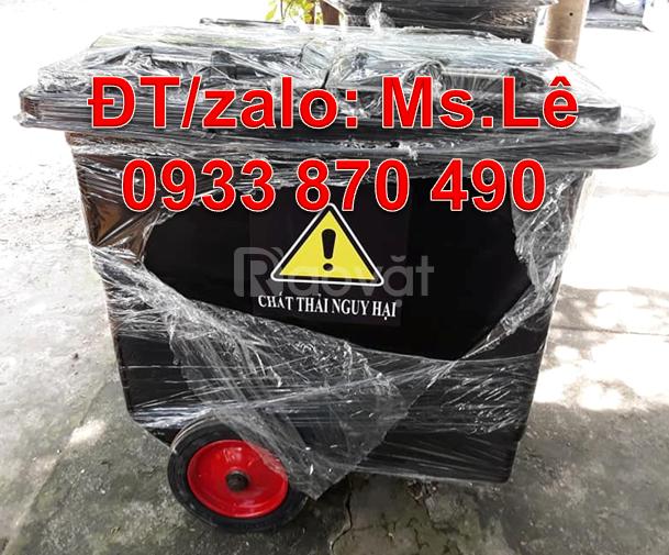Bán thùng rác 660l bằng nhựa composite,thùng rác 1000l rẻ quận Tân Phú