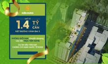 Căn hộ 2PN giá chỉ 1,4 tỷ ngay gần mặt đường vành đai 3 Phạm Văn Đồng