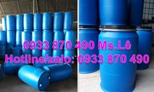 Thùng phuy sắt 220l cũ đựng hóa chất, thùng phuy nhựa 120l giá rẻ