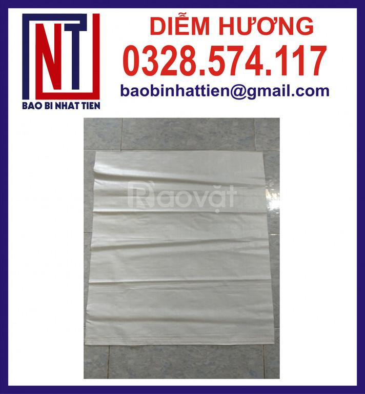 Bao PP dệt màu trắng đựng nguyên liệu (ảnh 5)