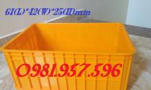 Thùng đặc cao 25cm, thùng 2T5, thùng đựng hải sản