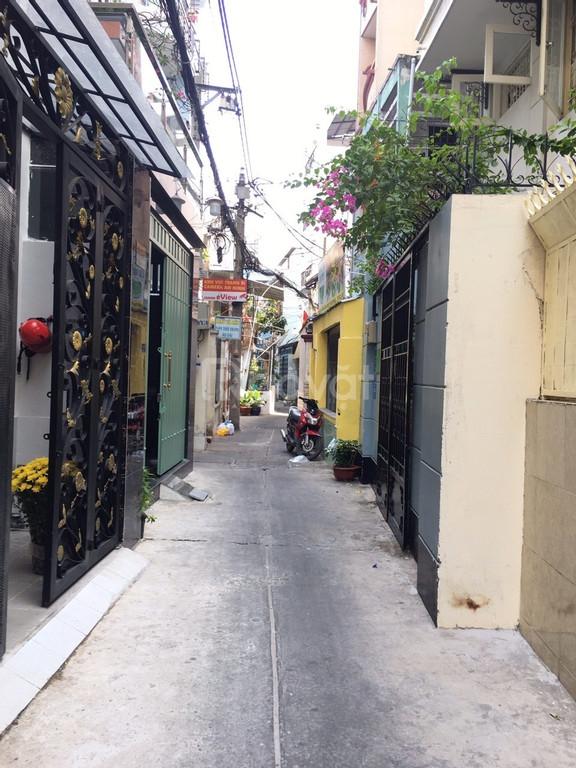 Nhà mới hẻm rộng cách HXH vài căn, sau lưng trường VUS Phan Xích Long