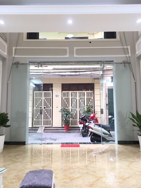 Bán nhà mặt ngõ kinh doanh phố Lê Thanh Nghị, 6T, thang máy DT 55m2