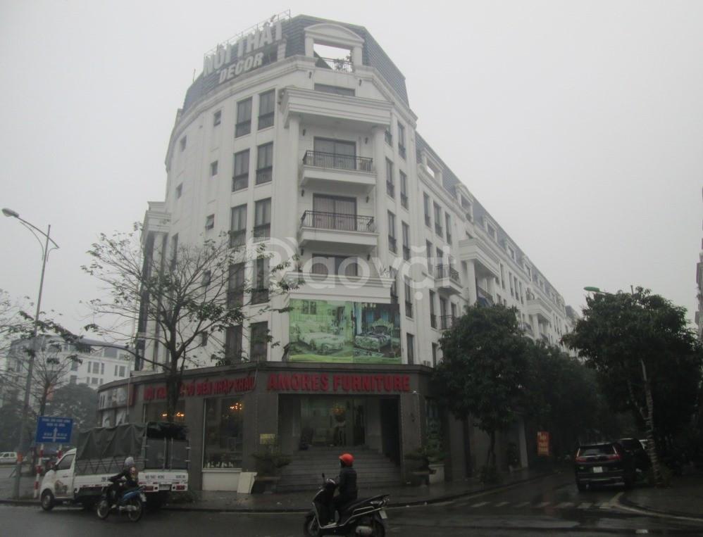 Shophouse V6 Văn Phú Victoria 99m2x7T thang máy, cho thuê 50