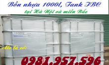 Bồn nhựa 1000l , bồn đựng nước sạch, bồn nuôi cá