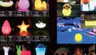 Bàn ghế nhựa led phát sáng giá rẻ, bàn bar nhiều màu (ảnh 1)