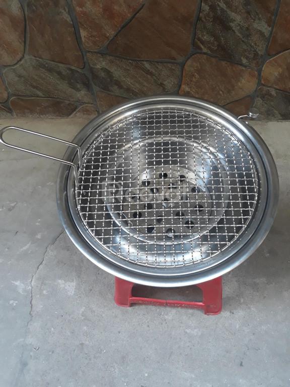 Bếp nướng than hoa không khói Hàn Quốc Hút Dương ,bếp nướng âm bàn