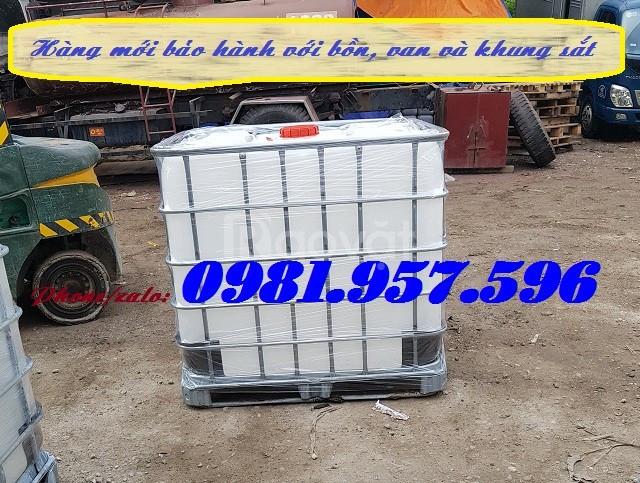 Tank IBC cũ, Tank IBC mới, bồn nhựa 1000l (ảnh 4)